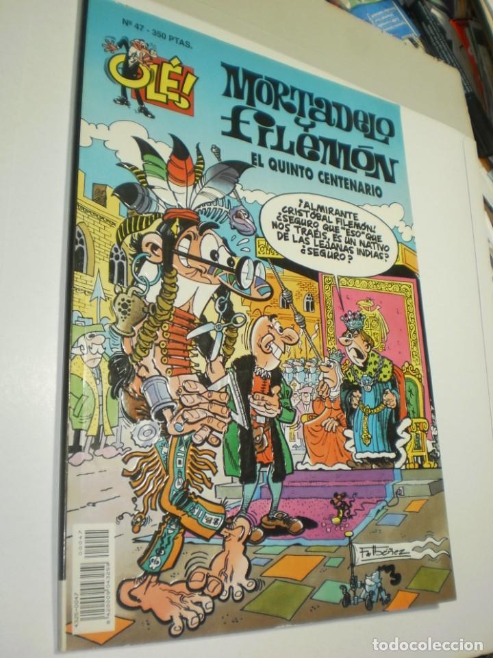 OLÉ MORTADELO Y FILEMÓN Nº 47 1994 QUINTO CENTENARIO (BUEN ESTADO) (Tebeos y Comics - Ediciones B - Otros)