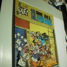 Cómics: OLÉ. 13, RUE DEL PERCEBE Nº 40 1993 (SEMINUEVO). Lote 253061305