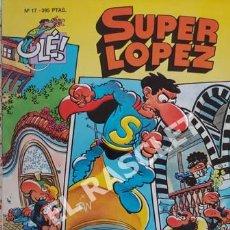 Cómics: SUPER LOPEZ- PERIPLO BÚLGARO - NUMERO 17- EDICIONES OLÉ. Lote 253314735