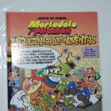 Cómics: MAGOS DEL HUMOR NÚMERO 146 , MORTADELO Y FILEMÓN, JUBILACIÓN ... ¡ A LOS NOVENTA!. Lote 253647690