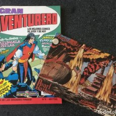 Cómics: GRAN AVENTURERO Nº 8 + FACSÍMIL - DRAGON COMICS - 1ª EDICION - EDICIONES B - 1990 - ¡COMO NUEVO!. Lote 253647835