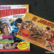 Cómics: GRAN AVENTURERO Nº 9 + FACSÍMIL - DRAGON COMICS - 1ª EDICION - EDICIONES B - 1990 - ¡NUEVO!. Lote 253648405