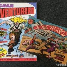 Cómics: GRAN AVENTURERO Nº 10 + FACSÍMIL - DRAGON COMICS - 1ª EDICION - EDICIONES B - 1990 - ¡COMO NUEVO!. Lote 253648900