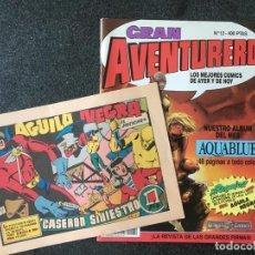 Cómics: GRAN AVENTURERO Nº 12 + FACSÍMIL - DRAGON COMICS - 1ª EDICION - EDICIONES B - 1990 - ¡COMO NUEVO!. Lote 253649830