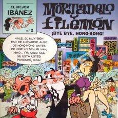 Cómics: MORTADELO Y FILEMON - BYE BYE, HONG-KONG! - Nº 2. Lote 253703690