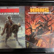 Fumetti: HANS, DE ROSINSKI Y DUCHATEAU. EDICIONES B. LOS DOS ALBUMES. Lote 253899880