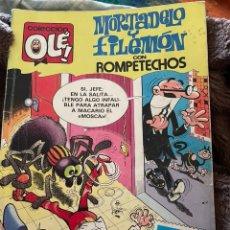 Cómics: MORTADELO Y FILEMÓN CON ROMPETECHOS. OLE! NÚM 274/49. EDICIÓN 1987. Lote 254200475