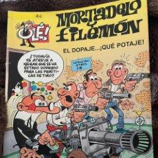 Cómics: MORTADELO Y FILEMÓN. OLE! NÚM 177. EL DOPAJE...QUE POTAJE!. Lote 254200885