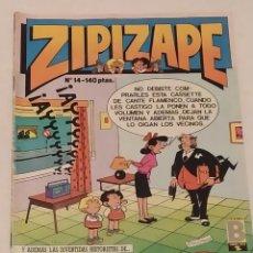 Cómics: ZIPI Y ZAPE Nº 14 - EDICIONES B - AÑO 1987. Lote 254214575