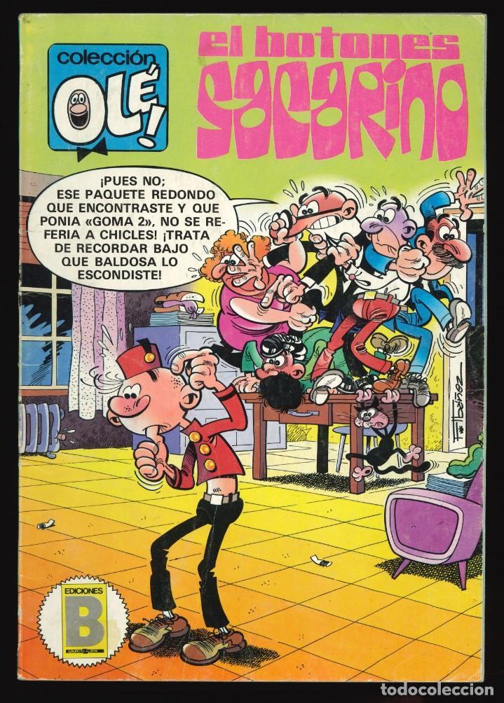 COLECCIÓN OLÉ - EDICIONES B / NÚMERO 284 (EL BOTONES SACARINO) (Tebeos y Comics - Ediciones B - Humor)