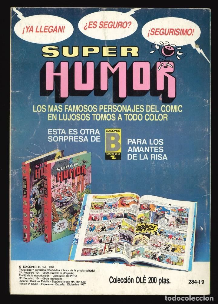 Cómics: COLECCIÓN OLÉ - EDICIONES B / NÚMERO 284 (EL BOTONES SACARINO) - Foto 2 - 254353250