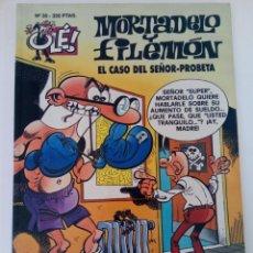 Cómics: MORTADELO Y FILEMÓN - EL CASO DEL SEÑOR-PROBETA - OLÉ! Nº 35 - EDICIONES B. Lote 254525475