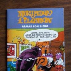 Cómics: MORTADELO Y FILEMÓN: ARMAS CON BICHO - F. IBAÑEZ. Lote 254539095