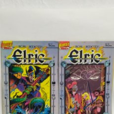 Cómics: LOTE DE 2 CÓMIC ELRIC. FIRST CÓMIC. TEBEOS S.A.1987.N°7 Y 8.. Lote 254623060