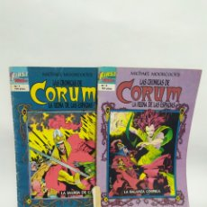 Cómics: LOTE DE 2 CÓMIC CORUM.FIRST CÓMIC.TEBEOS S.A.1987.N°7Y8.. Lote 254623365