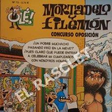Cómics: COMIC - MORTADELO Y FILEMON - Nº 73 - CONCURSO OPOSICIÓN. Lote 254766140