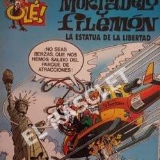 Cómics: COMIC - MORTADELO Y FILEMON - Nº 15 -LA ESTATUA DE LA LIBERTAD. Lote 254766835