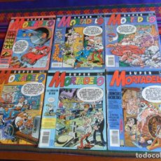 Cómics: CON EL CAPITÁN TRUENO SUPER MORTADELO NºS 94 105 124 125 139 140. EDICIONES B 1991. 250 PTS.. Lote 254875545