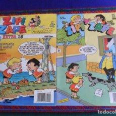 Cómics: ZIPI ZAPE EXTRA Nº 18 CON LOS PITUFOS Y EL CAPITÁN PANTERA. EDICIONES B 1992. REGALO Nº 192.. Lote 254876685
