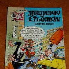 Cómics: OLE MORTADELO Y FILEMON Nº 95 EL CASO DEL BACALAO. Lote 255988520