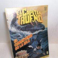 Cómics: COMIC EL CAPITÁN TRUENO: EL CEMENTERIO EN LA ISLA N54 EDIT. EDICIONES B. Lote 257699260