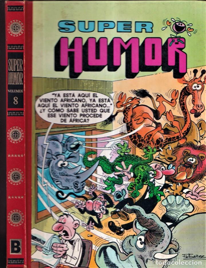 SUPER HUMOR - MORTADELO Y FILEMÓN 8 - PRIMERA EDICIÓN 1990 EDICIONES B (Tebeos y Comics - Ediciones B - Humor)