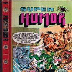 Cómics: SUPER HUMOR - MORTADELO Y FILEMÓN 8 - PRIMERA EDICIÓN 1990 EDICIONES B. Lote 257710675