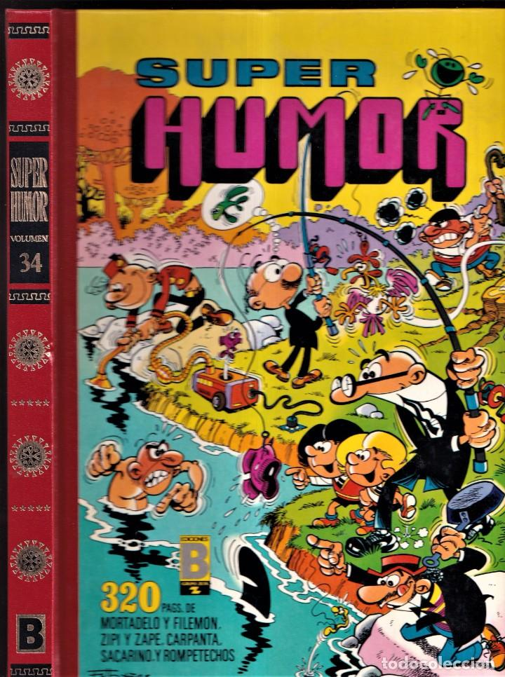 Cómics: SUPER HUMOR - MORTADELO Y FILEMÓN 34 - 1990 EDICIONES B - Foto 1 - 257710960