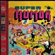 Cómics: SUPER HUMOR - MORTADELO Y FILEMÓN 34 - 1990 EDICIONES B. Lote 257710960