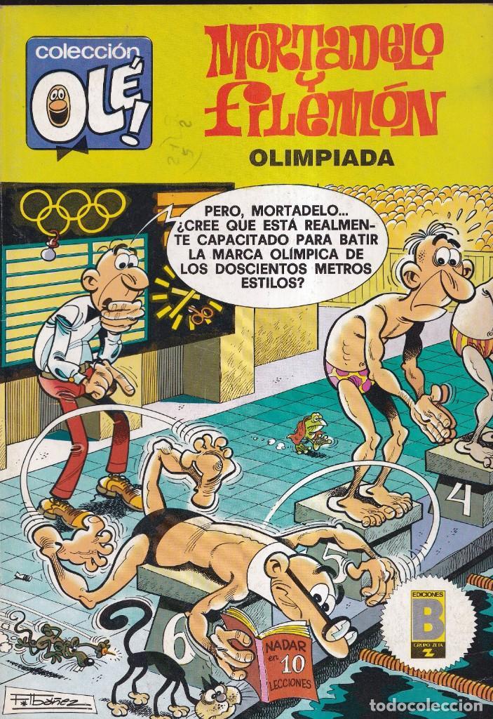 MORTADELO Y FILEMÓN - COLECCIÓN OLÉ 195 M 85 - EDICIONES B 1989 (Tebeos y Comics - Ediciones B - Humor)