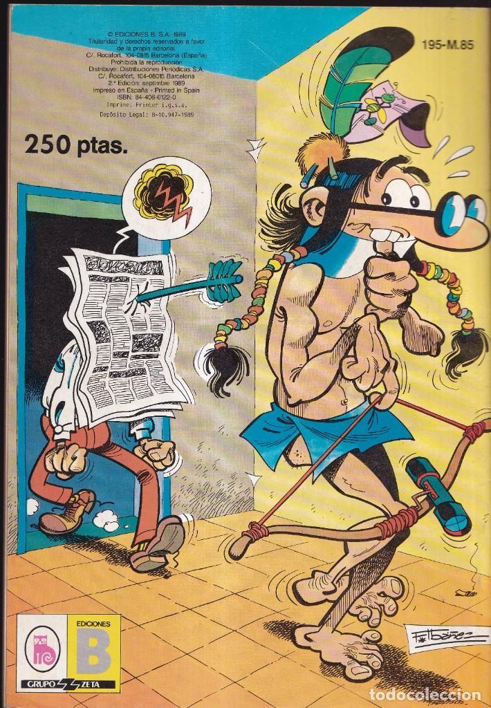Cómics: MORTADELO Y FILEMÓN - COLECCIÓN OLÉ 195 M 85 - EDICIONES B 1989 - Foto 2 - 257711720