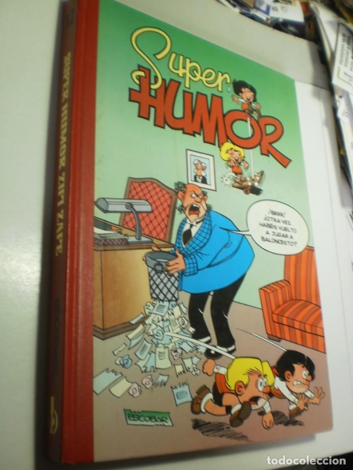SUPER HUMOR ZIPI ZAPE Nº 12 1998 TAPA DURA (BUEN ESTADO, LEER) (Tebeos y Comics - Ediciones B - Humor)
