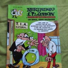 Comics : MORTADELO Y FILEMÓN Y ROMPETECHOS. LOS DEMÁS, TODOS MALTRECHOS. N.114. Lote 258173580