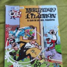 Comics : MORTADELO Y FILEMÓN. EL CASO DE LOS SRES. PEQUEÑITOS. N.90. Lote 258176455