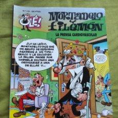 Comics : MORTADELO Y FILEMÓN. LA PRENSA CARDIOVASCULAR. N.118. Lote 258176965