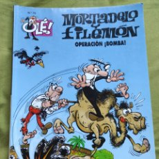 Comics : MORTADELO Y FILEMÓN. OPERACIÓN ¡BOMBA!. N.75. Lote 258177610