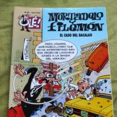 Comics : MORTADELO Y FILEMÓN. EL CASO DEL BACALAO. N.95. Lote 258180090