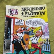 "Comics : MORTADELO Y FILEMÓN. OBJETIVO ELIMINAR AL ""RANA"". N.30. Lote 258180900"