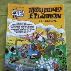 Comics : MORTADELO Y FILEMÓN. LA SIRENITA. N.155. Lote 258181145