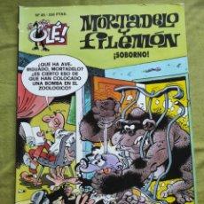 Comics : MORTADELO Y FILEMÓN. ¡SOBORNO!. N.45. Lote 258182315