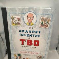 Fumetti: LOS GRANDES INVENTOS DE TBO POR EL PROFESOR FRANZ DE COPENHAGUE: EDICIÓN INTEGRAL (PRIMERA EDICIÓN). Lote 258842215