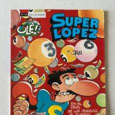 Comics : SÚPER LÓPEZ #12 EN EL PAÍS DE LOS JUEGOS EL TUERTO ES EL REY. BUEN ESTADO. Lote 259303765
