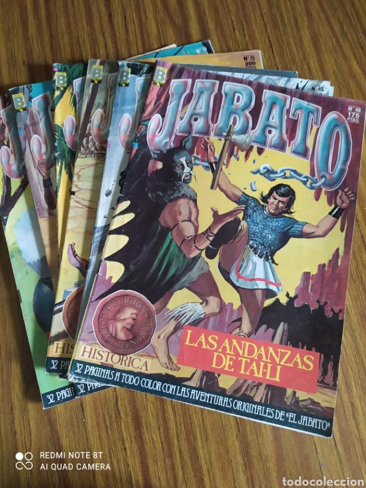EL JABATO, EDICIÓN HISTÓRICA, LOTE DE 6. SUELTOS A 1,95 €. (Tebeos y Comics - Ediciones B - Otros)