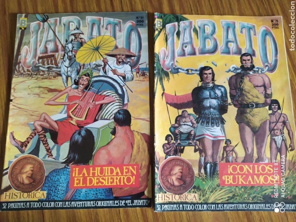 Cómics: El Jabato, Edición Histórica, lote de 6. Sueltos a 1,95 €. - Foto 3 - 161776332