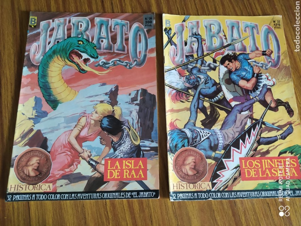 Cómics: Jabato, Edición Histórica, lote de 6 números. Sueltos a 1,95 €. - Foto 2 - 260521125