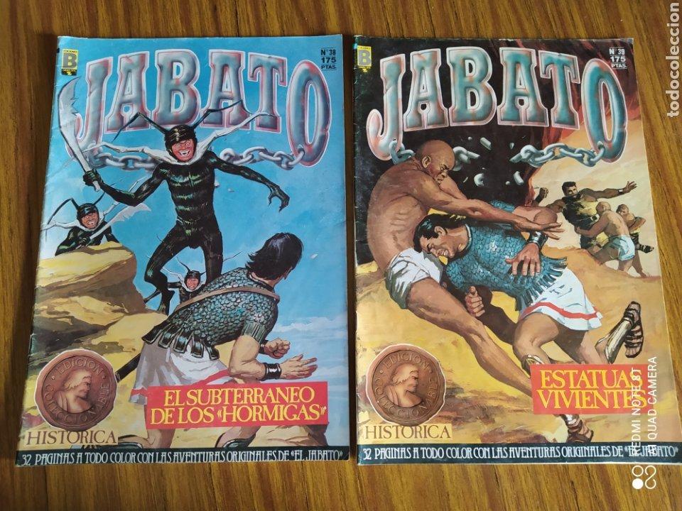 Cómics: Jabato, Edición Histórica, lote de 6 números. Sueltos a 1,95 €. - Foto 3 - 260521125