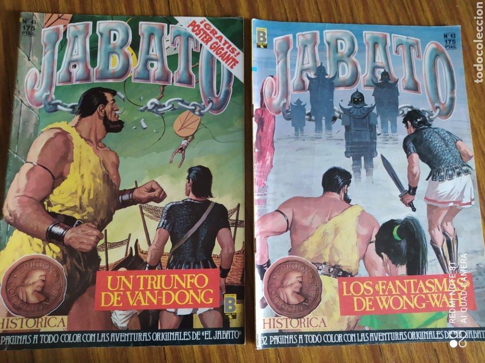 Cómics: Jabato, Edición Histórica, lote de 6 números. Sueltos a 1,95 €. - Foto 4 - 260521125