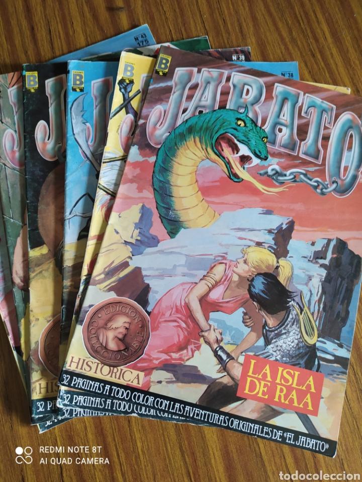 JABATO, EDICIÓN HISTÓRICA, LOTE DE 6 NÚMEROS. SUELTOS A 1,95 €. (Tebeos y Comics - Ediciones B - Clásicos Españoles)