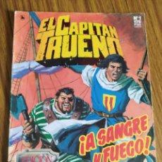 Cómics: EL CAPITÁN TRUENO. EDICIÓN HISTÓRICA, EDICIONES B. NÚMERO 1.. Lote 260523855