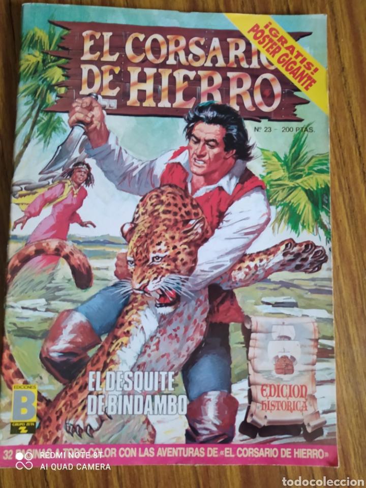 EL CORSARIO DE HIERRO, NÚMERO 23. CONTIENE EL PÓSTER. (Tebeos y Comics - Ediciones B - Clásicos Españoles)